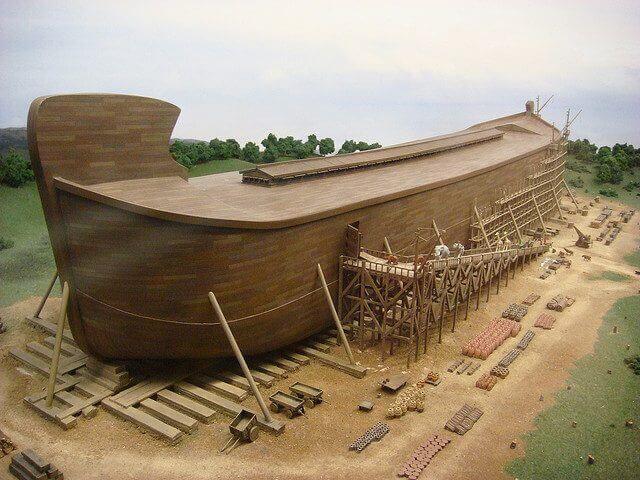 Mukjizat Nabi Nuh AS - Mampu Membuat Bahtera yang Begitu Besar dan Kokoh (1)