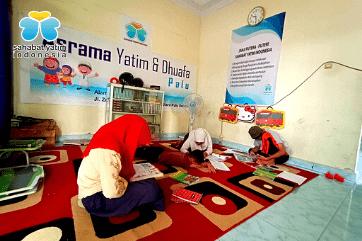 fasilitas pendidikan sahabat yatim